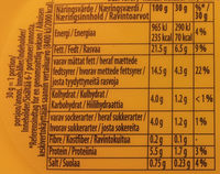 Philadelphia naturell - Nutrition facts