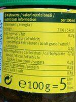 Hühnerbouillon - Nutrition facts - de