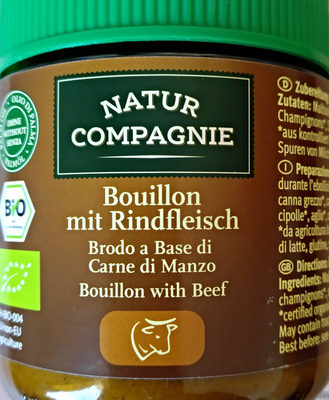 Bouillon mit Rindfleisch - Product
