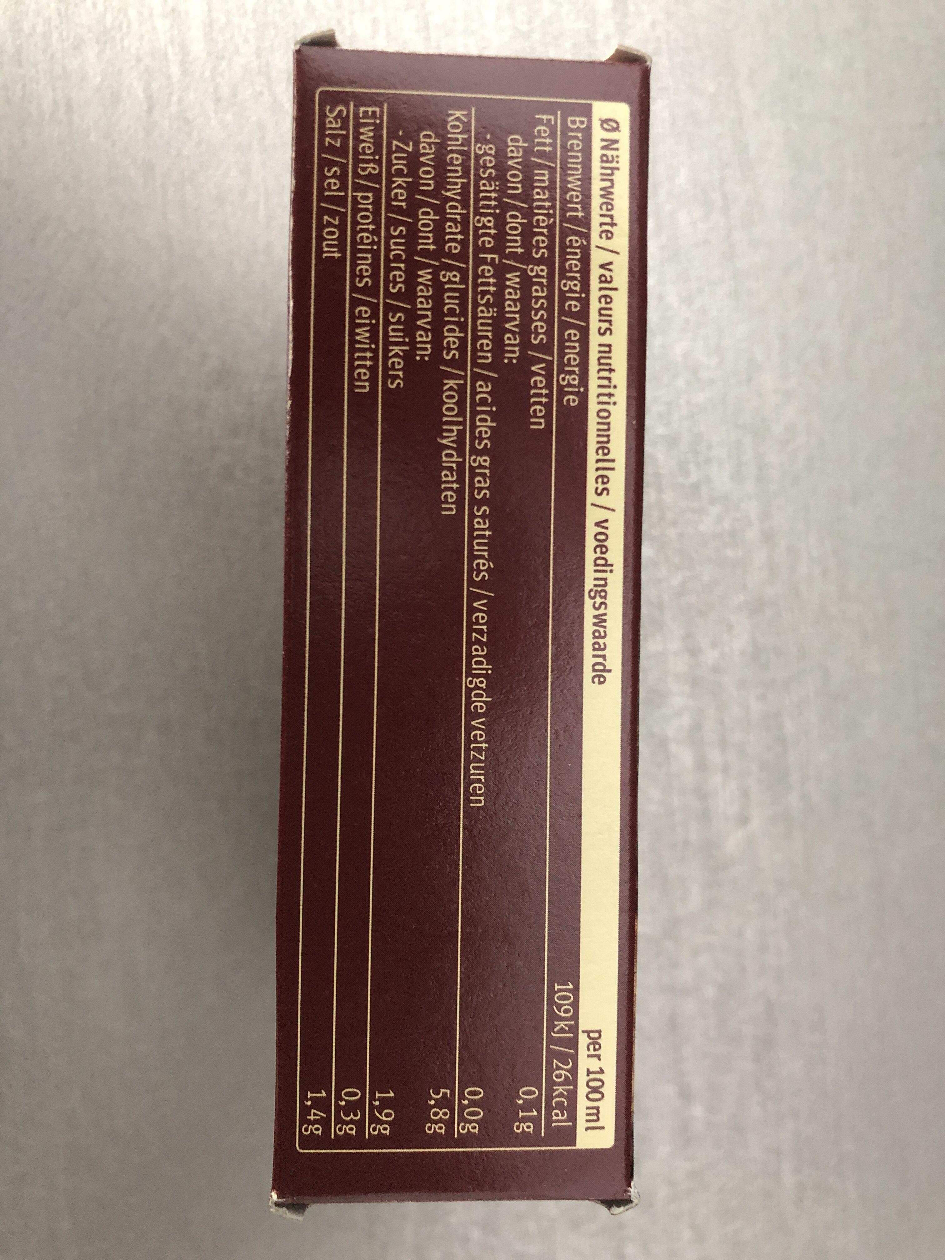 Dunkle Sauce - Informations nutritionnelles - fr