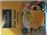 Natur Compagnie Instant Soup Kip - Nutrition facts - fr