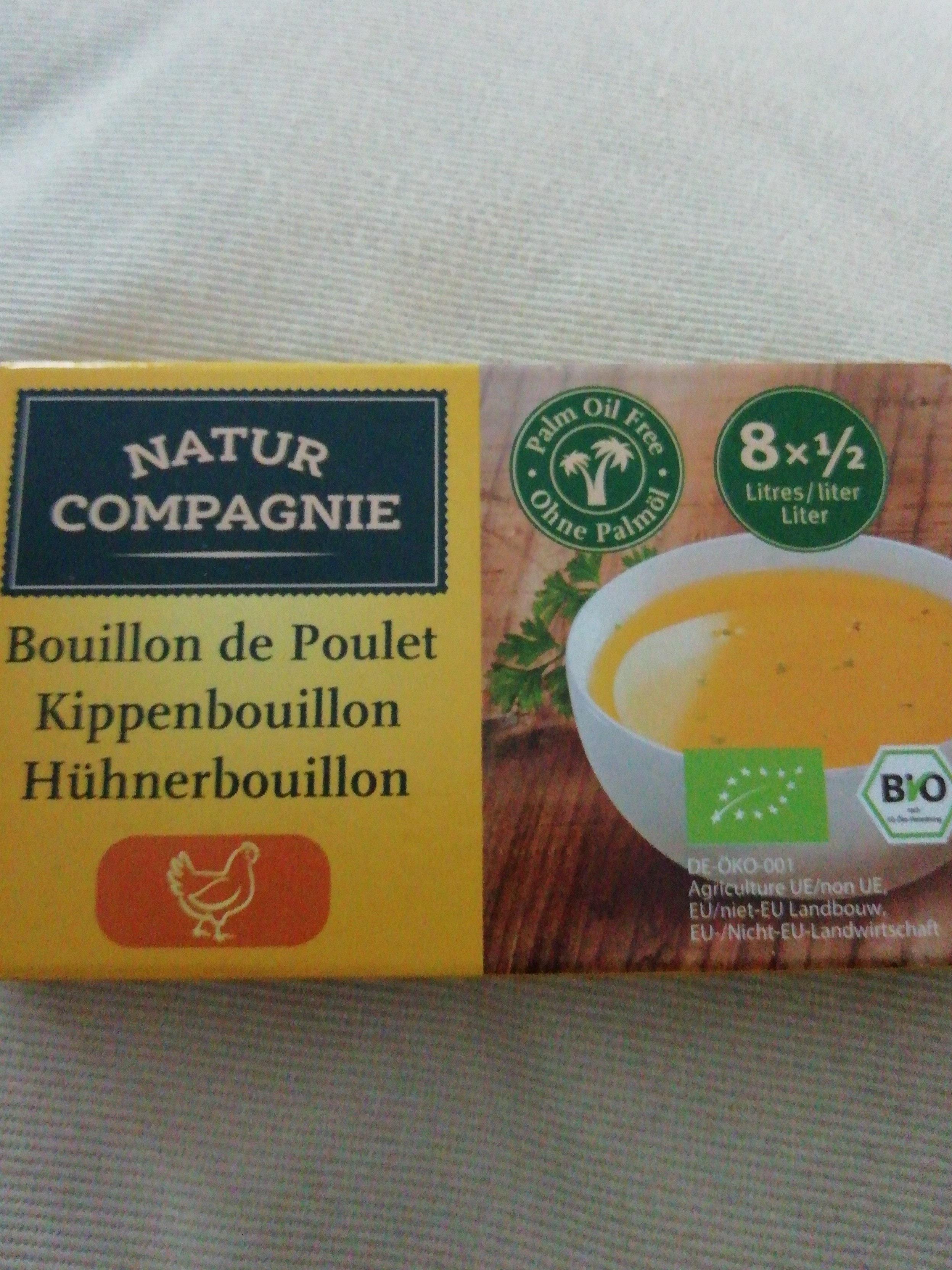 Bouillon de poulet bio - Product - fr
