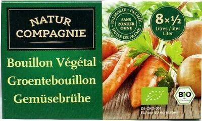 Bouillon Vegetal Cubes Sans Huile De Palme - Product - fr