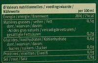 Bouillon Vegetal Cubes Sans Huile De Palme - Nutrition facts - fr