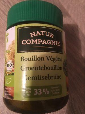 BOUILLON VEGETAL POT VERRE - Nutrition facts - fr