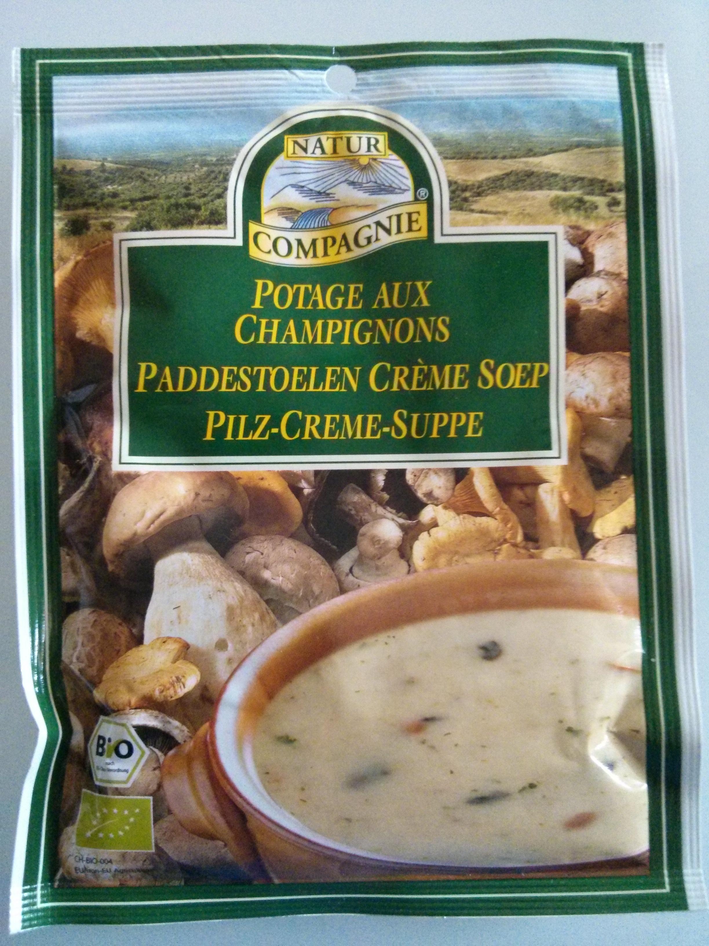 Potage aux champignons - Product - fr