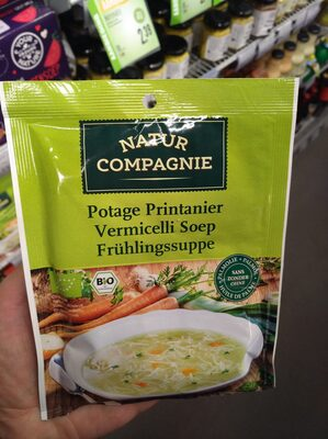 Potage Printanier Vermicelli Soep Frühlingssuppe - Product - nl