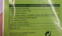 Potage Aux Poireaux Demi L - Voedingswaarden - fr