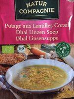 Potage aux lentilles corail - Product - fr