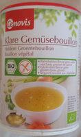 Klare Gemüsebouillon mit 15,5 % Gemüse - Producto - de