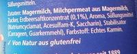 Classico Erdbeer-Drink - Inhaltsstoffe