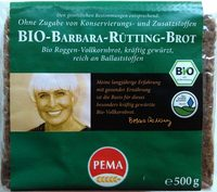 Bio-Barbara-Rütting-Brot - Product - de