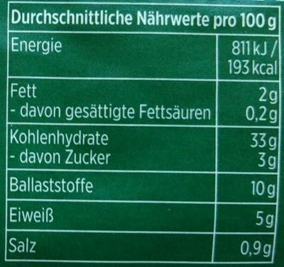 Bio-Barbara-Rütting-Brot - Voedingswaarden - de