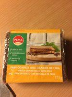 Pain complet aux graines de chia - Produit - fr