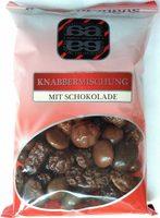Knabbermischung mit Schokolade - Produkt