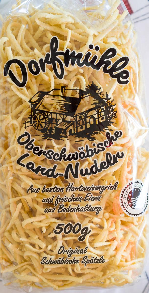 Nudeln: Original Schwäbische Spätzle - Product - de
