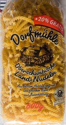 Oberschwäbische Landnudeln Spiralen - Product - de