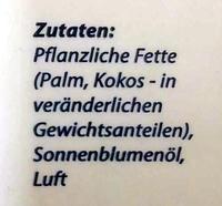 Palmin soft - Inhaltsstoffe