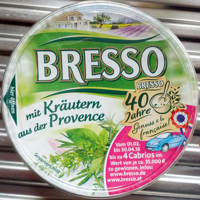 Bresso mit Kräutern aus der Provence - Produkt