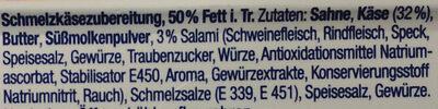 Salami mit Allgäuer Milch - Ingrédients - de
