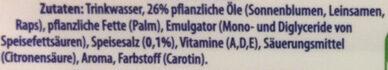 Becel Vital - Ingredients