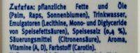 Sanella Margarine - Ingredients