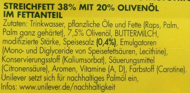 Brotaufstrich mit Olivenöl - Ingrediënten