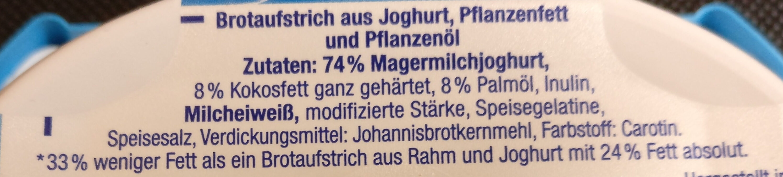 Brunch Balance, mit Joghurt - Ingrédients - de