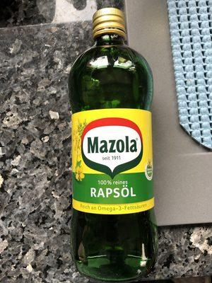 Mazola Rapsöl - Product