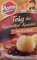 Pfanni Kartoffelteig 12 Knodel Halb & Halb (potato Dumpling Mix) - Produit