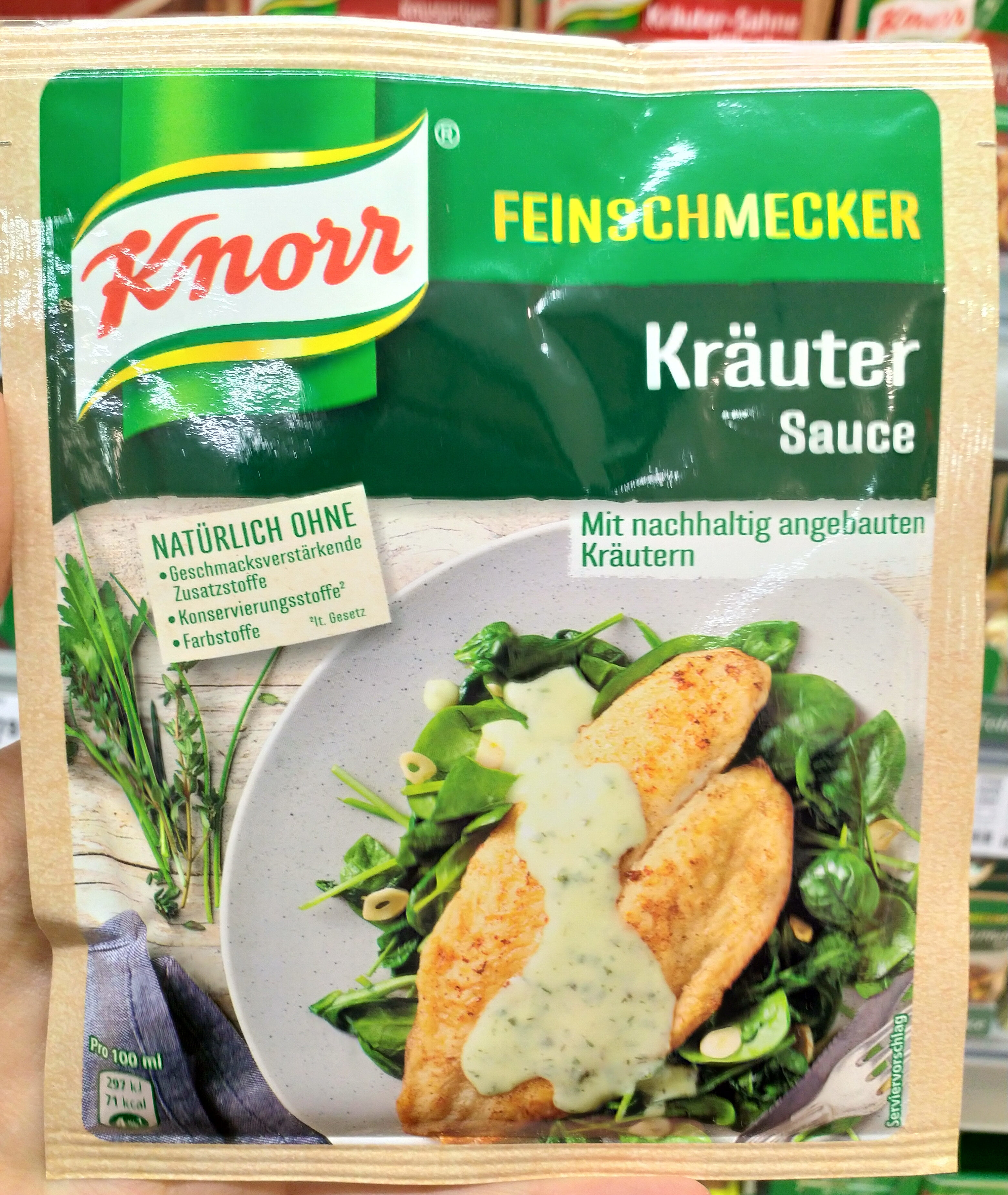 Kräuter Sauce - Produit - fr