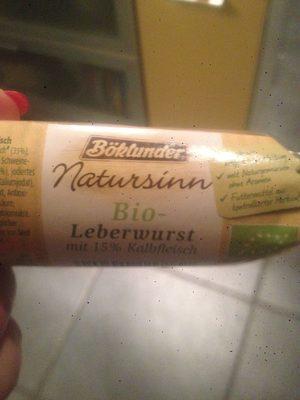 Bio Leberwurst - Produkt