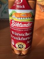 Würstchen Frankfurter Art - Produkt