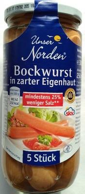 Bockwurst in zarter Eigenhaut salzreduziert - Produit - de