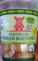 Vegetarische Mühlen Würstchen Minis - Prodotto - de