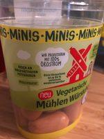 Vegetarische Mühlen Würstchen Minis - Produit - fr