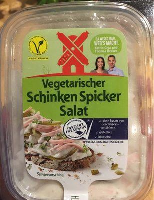 Vegetarischer Schinken Spicker Salat - Produit - fr