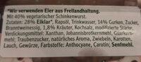 vegetarischer Schinken Spicker Salat Kräuter - Ingredients - de
