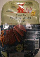Veganes Mühlen Steak Typ Rind - Produit - de
