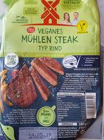veganes Mühlen Steak Typ Rind - Product - de