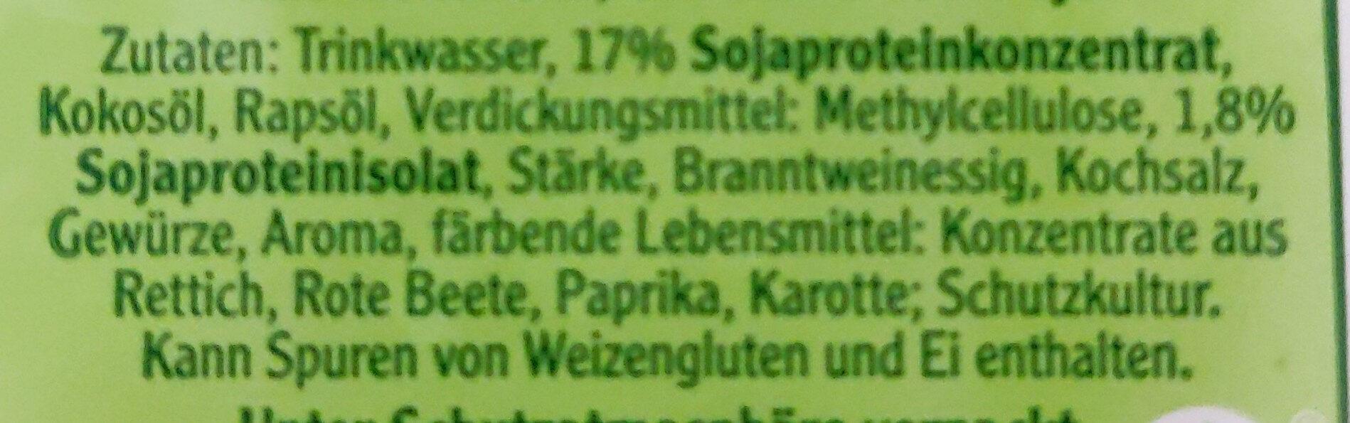 Vegane Mühlen Griller - Ingredients - de