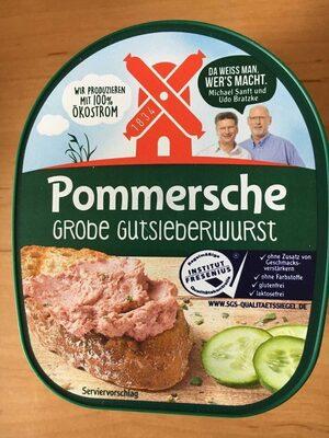 Pommersche Grobe Gutsleberwurst - Produit - de