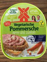 Vegetarische Pommersche Apfel und Zwiebel - Produit