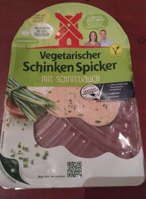 Rügenwalder Mühle Vegetarischer Schinken Spicker Schnittlauch - Produkt - de