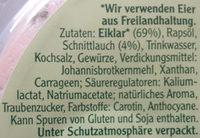Rügenwalder Mühle Vegetarischer Schinken Spicker Schnittlauch - Ingrédients - de