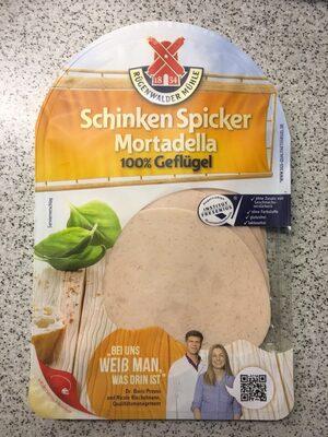 Schinken Spicker Geflügel-Mortadella - Product - de