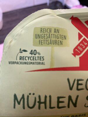 Vegetarische Mühlen Schnitzel Klassisch - Instruction de recyclage et/ou information d'emballage - de