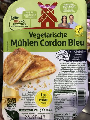 Vegetarische Mühlen Schnitzel Cordon Bleu - Product