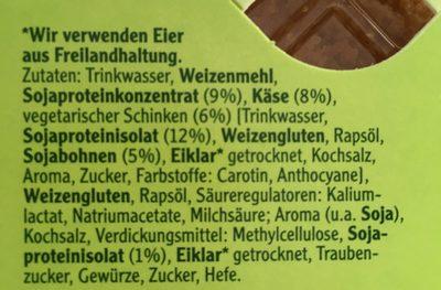 Vegetarische Mühlen Schnitzel Cordon Bleu - Ingrediënten