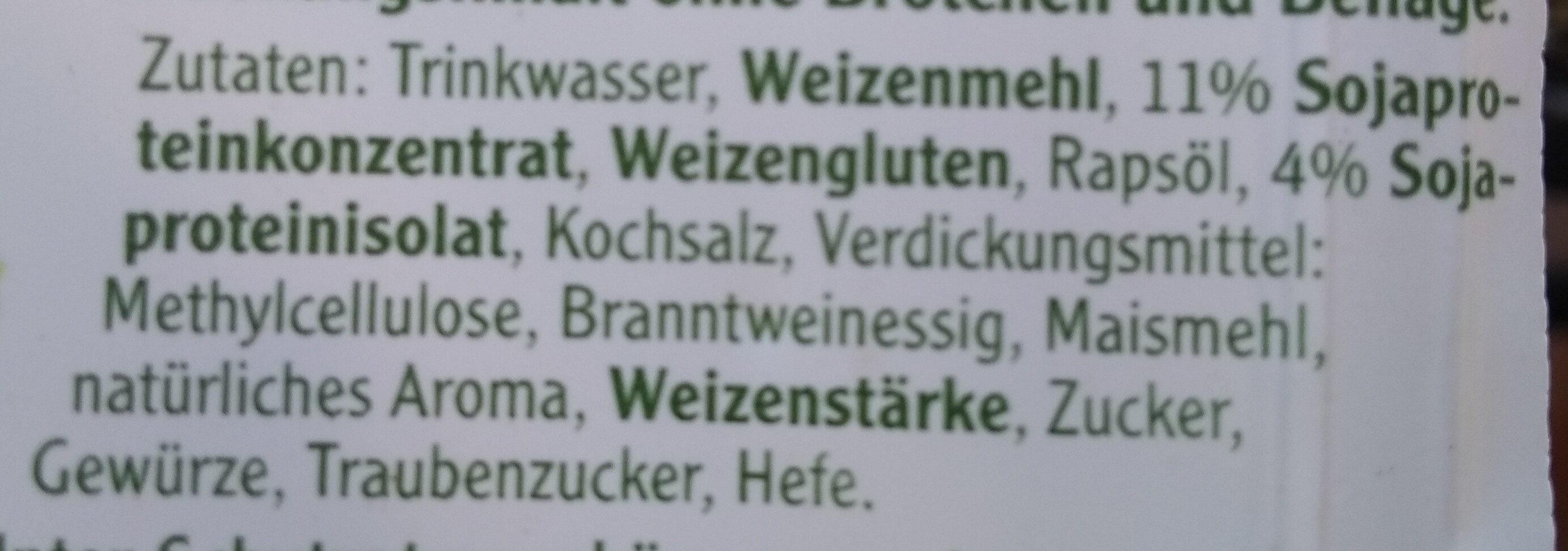 Mühlen Crispyburger - Ingrédients - de